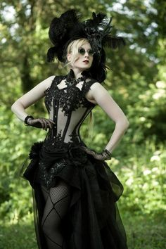 Couture Goth 3 Can you say wedding dress?!
