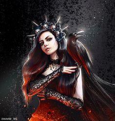 Raven Queen, My Drawings, Character Inspiration, Wonder Woman, Snow, Superhero, Female, Digital, Artwork