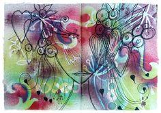 Melanie's art journal inspired