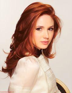 Red hair Ginger Doctor who Karen Gillian