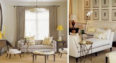 Marcus Design: {layering with glam little side tables}