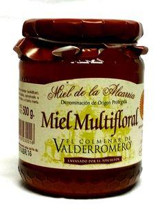 #Miel multifloral de la D. O. Miel de la Alcarria. La más antigua de nuestro país. De excelente calidad y pureza. Envase de 500 grs. Disponible en www.laorzaiberica.com