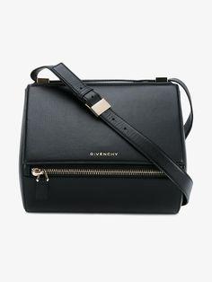GIVENCHY 'PANDORA BOX' SHOULDER BAG. #givenchy #bags #shoulder bags #lining #denim #suede #