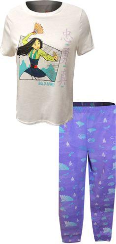 WebUndies.com Mulan Bold Spirit Jogger Pajama Best Pajamas, Pajamas Women, Duvet Day, Fashion Joggers, Lounge Wear, Cool Outfits, Tie Dye, Crop Tops, Tees