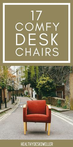 Time to upgrade your home office desk chair? These chairs are both stylish and functional! They'll add incredible ambiance to your existing home office decor and are also ergonomically designed for your body. Wood Office Desk, Home Office Desks, Home Office Furniture, Furniture Ideas, Outdoor Furniture Sets, Desk Chair Comfy, Modern Desk Chair, Cozy Chair, Modern Office Decor
