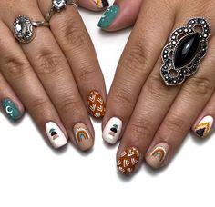 Gel Polish Designs, My Nails, Gemstone Rings, Nail Art, Gemstones, Beauty, Jewelry, Jewlery, Gems