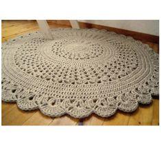 big rug crochet step by step - Pesquisa Google
