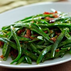 Sautéed Green Beans with Bacon - The Pampered Chef®
