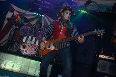Rusty Rocking The Bass