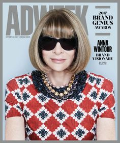 Anna Wintour posed for a chic new magazine cover—inside, she spilled about why she doesn't use social media, and more.