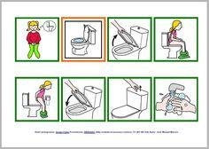 Aprovechando que una compañera me ha pedido que le construyera unas rutinas paras eñalizar el baño , he preparado rápidamente este material ...