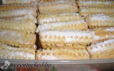 Kókuszos-vaníliás rúd recept fotóval