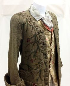 """juggler coat and costume from Outlander, episode 14 """"The Search"""" -Terry Dresbach is the amazing costume designer."""