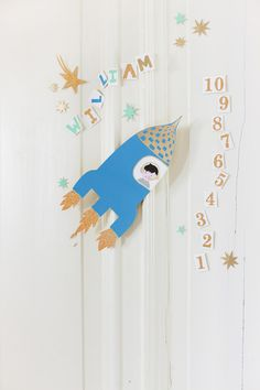 3,2,1... me voy al espacio! Manualidades infantiles para decorar la habitación, MAISON ARTIST.