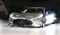 The Mercedes-Benz Vision Gran Turismo concept car at the 2013 Los Angeles Auto Show.
