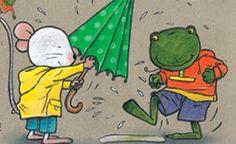 príbeh miška a žabka