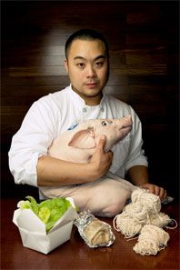 David Chang born August 5, 1977 is a noted Korean-American chef. He is chef/founder of the Momofuku restaurant group, which includes Momofuku Noodle Bar, Momofuku Ssäm Bar, Má Pêche, Milk Bar and Momofuku Ko in New York City, Momofuku Seiōbo in Sydney, Australia and the Momofuku Toronto restaurants Momofuku Noodle Bar, Nikai, Daishō and Shōtō.In 2009 Ko was awarded 2 Michelin stars, which it still maintains.Chang later attended the French Culinary Institute (FCI),