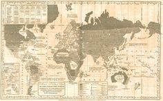 racism: racial ethnocentric and moral political chart, 1835