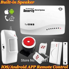 (Buy here: http://appdeal.ru/12ak ) App Smart IOS/Android New Wireless GSM SIM card Home Security Burglar Voice Alarm System Auto Dialing Dialer SMS Call Protection for just US $48.99