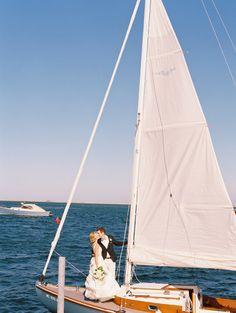 Nautical lovin': http://www.stylemepretty.com/2015/03/26/romantic-nautical-cape-cod-wedding/ | Photography: Trent Bailey - http://www.trentbailey.com/