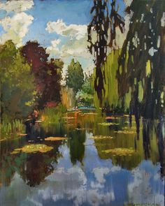 Monet's Pond at Giverny | Jan Schmuckal