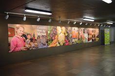 Exposição Mario Quintana - Trensurb Centro de Apoio ao Pequeno Agricultor (CAPA) Campanha comida boa na mesa