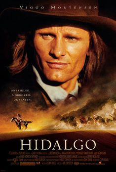 See after The Road   Directed by Joe Johnston.  With Viggo Mortensen, Omar Sharif, Zuleikha Robinson, Louise Lombard. In 1890, a down-and-out cowboy and his horse travel to Arabia to compete in a deadly cross desert horse race.