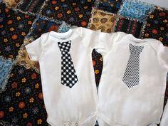 boy tie onesie