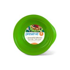 Preserve Everyday Bowls Apple Green (4 x16 Oz)