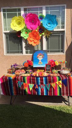 Frida Art Birthday Party
