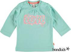 Babyface Longsleeve lichtgroen - Meisjes Baby T-shirts lange mouw €11,95