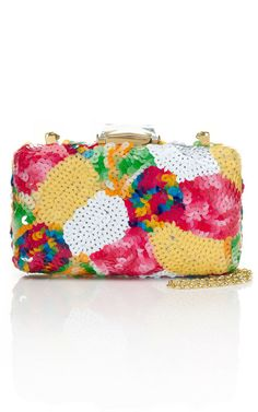 Multicolor Sequin Espey Clutch by Kotur for Preorder on Moda Operandi