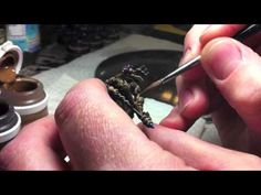 Two brush Blending – On the Miniature Shading