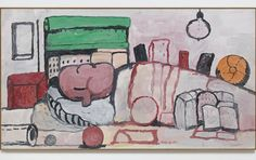 Guston's drawings of Nixon stayed private until decades after the artist's death.