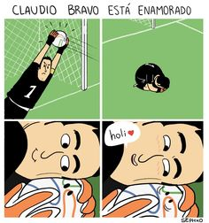 La razón de por qué Claudio Bravo es tan seco para atrapar la pelota - Sephko Amor a la pelota - El Definido