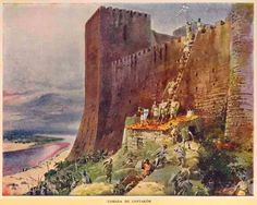 The Conquest of Santarém took place on 15 March 1147, when the troops of the Kingdom of Portugal under the leadership of Afonso I of Portugal captured the Almoravid city of Santarém.