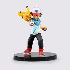 $16.81 (Buy here: https://alitems.com/g/1e8d114494ebda23ff8b16525dc3e8/?i=5&ulp=https%3A%2F%2Fwww.aliexpress.com%2Fitem%2FAnime-Pokemon-Ash-Ketchum-Pikachu-PVC-Action-Figure-Collectible-Model-Toy-13cm%2F32721746940.html ) Anime Pokemon Ash Ketchum Pikachu PVC Action Figure Collectible Model Toy 13cm for just $16.81