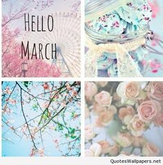 Hello March Nice picture wallpaper hd 2016