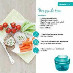 Tupperware - Mousse de thon