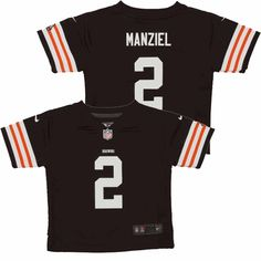 164222ed564 Johnny Manziel Infant Browns Jersey (12-24M)  Manziel  Cleveland  Browns
