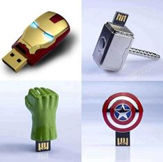 The Avengers flash drive. Very Cool