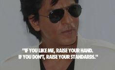 King of bollywood #Shahrukh khan #inspirational quotes