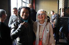Andile Dylvane and Clementina van der Walt at 100% Design SA launch Cape Town
