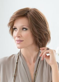 BRILLIANCE -  Refined elegance. This elegant, layered bob with a perfect cut will win you over. Various styling options allow scintillating changes.