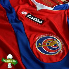 Camisa Lotto Costa Rica Home 2014