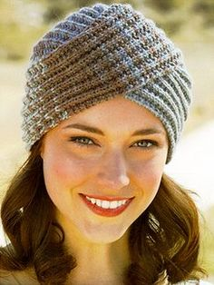 #430 - Montana: Book by Sirdar | Knitting Fever - Love this style hat. I might have to break down and buy the pattern.