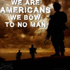 We are a free people, a country born from rebellion, bowing is not in our blood!