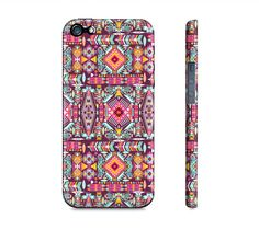 Pink & Purple Aztec Tribal Girly Iphone 5 Case  by SuprCases, $29.95