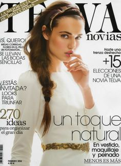 Blanca Padilla - Telva Novias Magazine Cover [Spain] (February 2014)