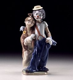 COLLECTORS CLUB  LLADRO - PALS FOREVER  Issue Year:   2000    Retirement Year:   2002    Sculptor:   Juan Huerta